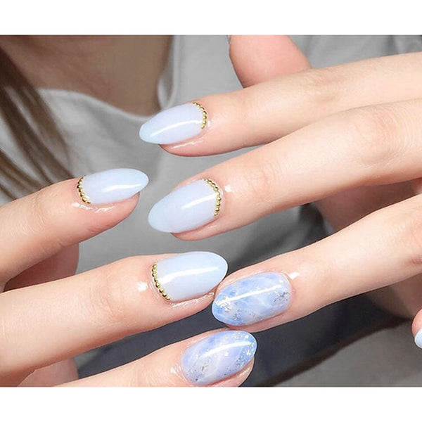 Nail Art Metal Studs Bling Decoration 12 Styles