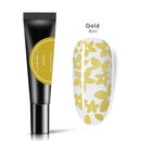Stamping Nail Polish 8ml - Gold