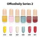 Water-Based Nail Polish 6 Color Set