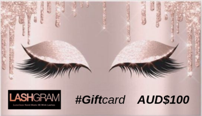 Lashgram Gift Card