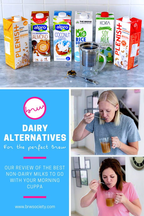 We Tried Out 6 Dairy-Free Milks with Black Tea, And Here's What We Discovered...