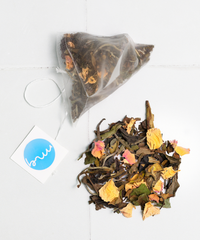 Whole ingredients, teabags, plastic free