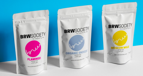 BRW Society tea trio
