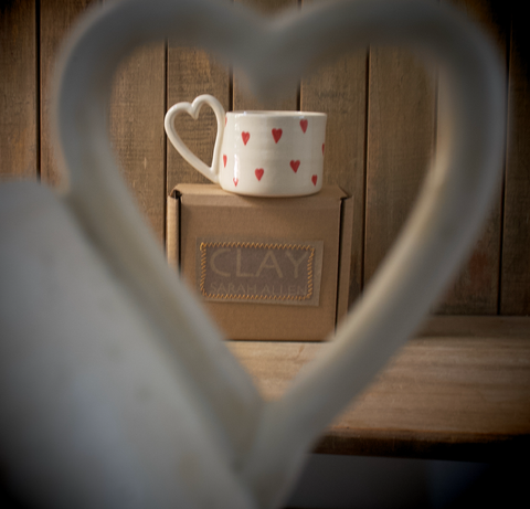 CLAY by Sarah Allen Mugs