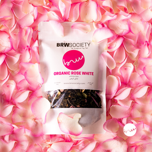 Organic Rose White - White Tea