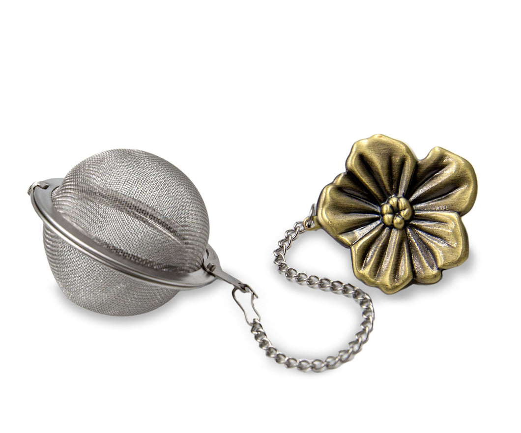 BRW Society Flower Tea Ball Infuser