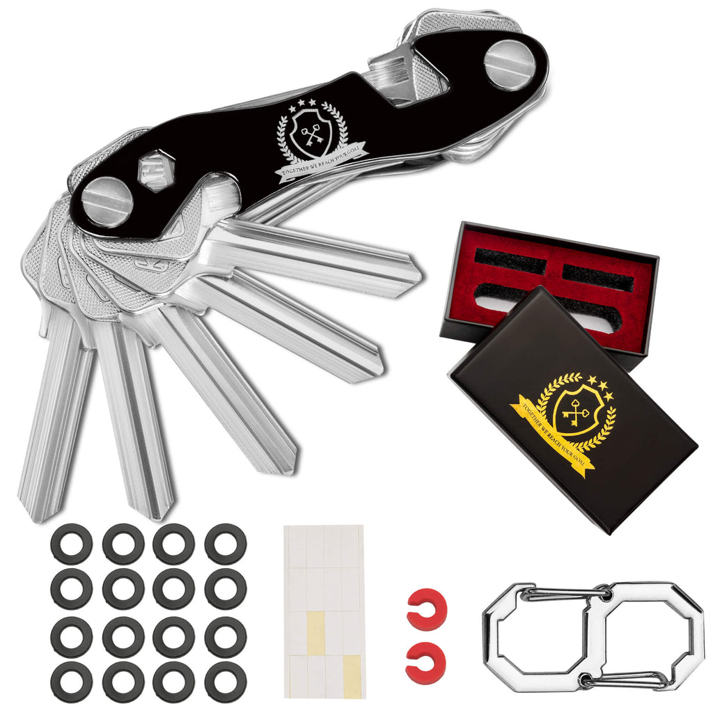 Compact Key Organizer by EmpiresKey | Pack That can Hold up to 12 Keys