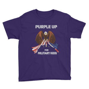 Purple Up - XS to XL Youth Short Sleeve T-Shirt