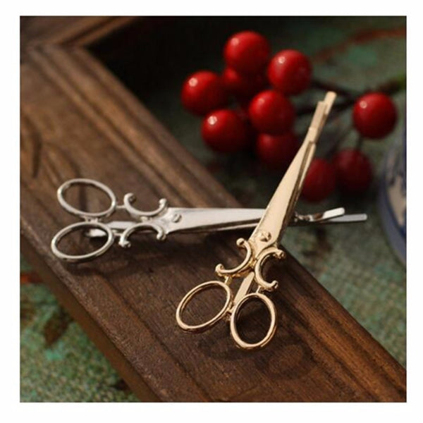 Scissors Hairpins