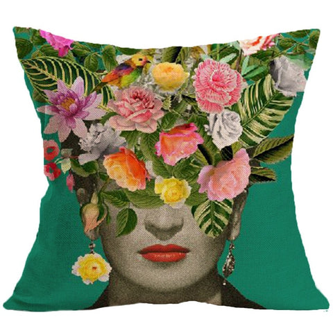 Frida Kahlo pillow case - Frida Kahlo Linen - Frida Kahlo - Pillow cover