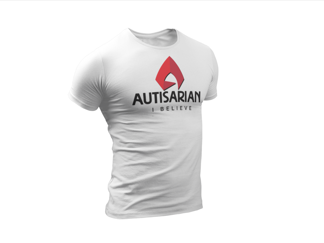 Autisarian I Believe Men's Short Sleeve T-shirt