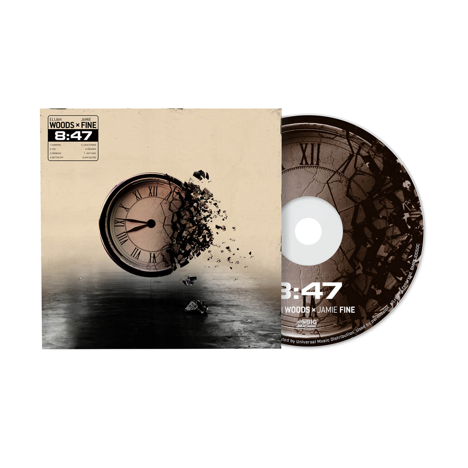 "Autographed ""8:47"" EP"