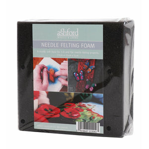 Ashford Foam Felting Block - Punch Needle Supplies NZ