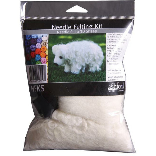 Ashford Needle Felting Kit - Punch Needle Supplies NZ
