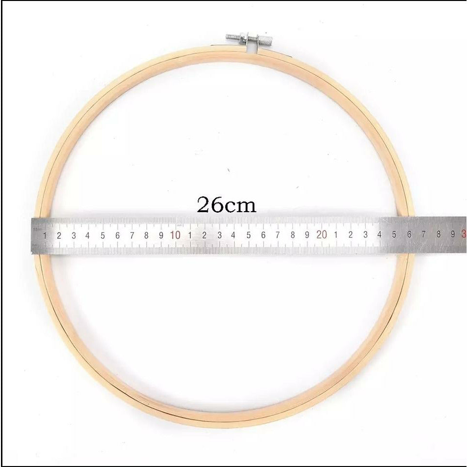 Wooden Embroidery Hoops for Display or Embroidery - Punch Needle Supplies NZ