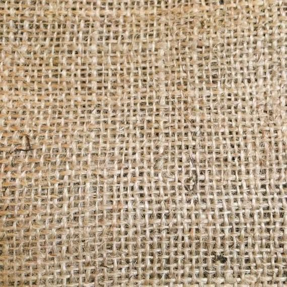 Natural Raw Hessian/Jute Fabric for Punch Needling - Punch Needle Supplies NZ