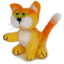 Dimensions Needle Felting Kits - Cat - Punch Needle Supplies NZ