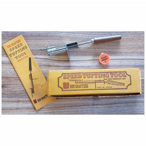 Vintage Speed Tufting Tool by Rug Crafters - Punch Needle Supplies NZ
