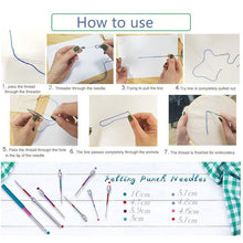 Load image into Gallery viewer, Russian Embroidery Punch Needle 8 size Kit - Punch Needle Supplies NZ