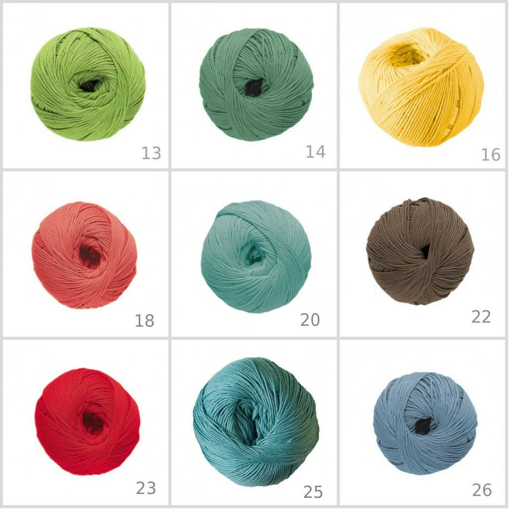 DMC Natura Just Cotton 60 Colours - Punch Needle Supplies NZ