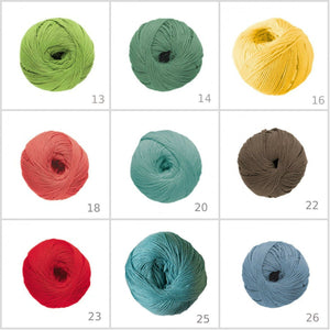 DMC Natura Just Cotton 60 Colours - For the Lavor Punch Needle! - Punch Needle Supplies NZ
