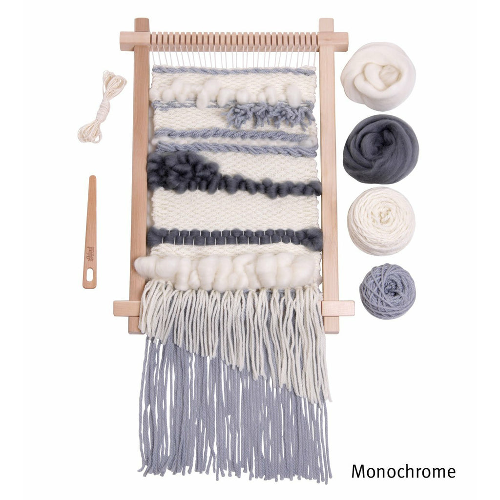 Ashford Monochrome Weaving Kit - Punch Needle Supplies NZ