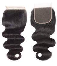 "Load image into Gallery viewer, Luxury Body Wave ""4x4"" Closure 16 inch"