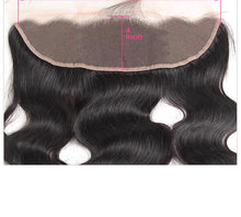 Load image into Gallery viewer, 13x5 Full Lace Frontal Closure Luxury Wave 16 inch