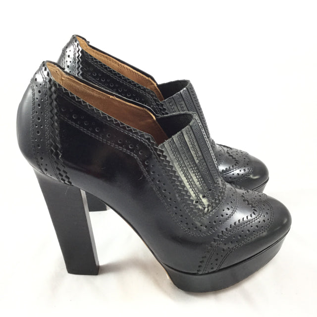 Givenchy Platform Stack Heel Shoe Booties. Size 6.5