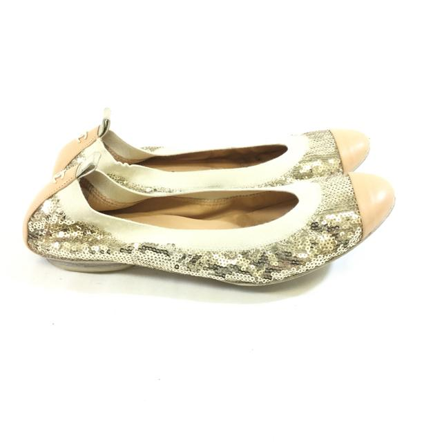 Chanel Sequin Ballet Flats