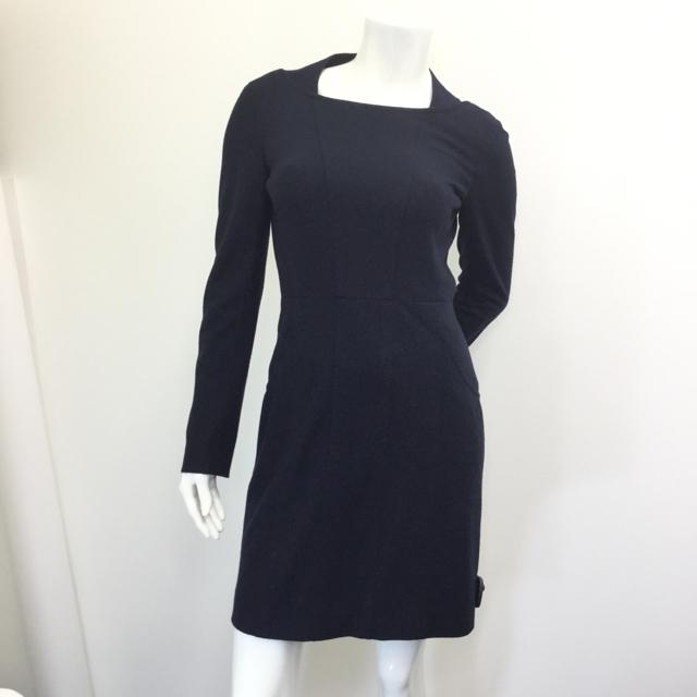 Women's Chanel Long Sleeve Dress. Size 38.