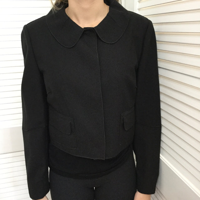 Women's Dolce & Gabbana Snap Front Jacket. Size 44