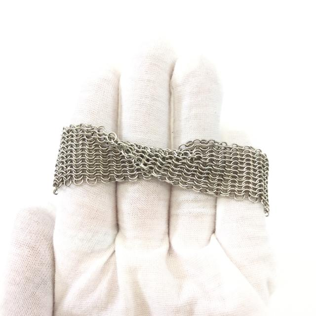 Tiffany & Co. Elsa Peretti Woven Sterling Silver Bracelet - Chic To Chic Consignment