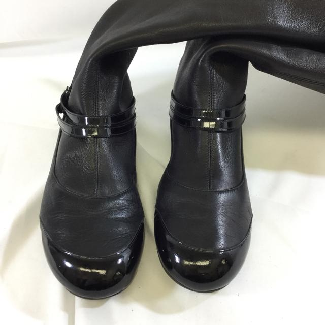 Chanel Flat Pull On Riding Boots. Size 37 - shoesCHANEL37, Black, boots, CHANELChic To Chic Consignment