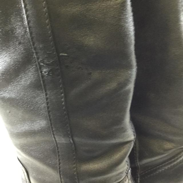 Chanel Mid-Thigh Leather Boots