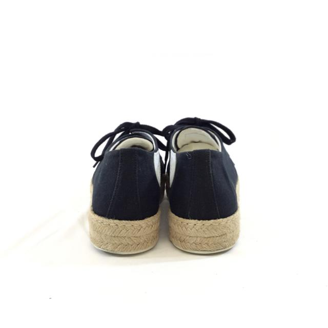 Hermes Canvas Espadrille Sneakers. Size 8.5