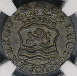 1764 NGC XF 40 ZEELAND Netherlands 1 duit Coin Top POP 1/0 (18091402C)