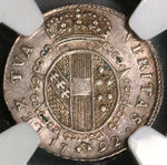 1792 NGC AU Tuscany Silver 1/2 Paolo Italy State Coin (18091606C)