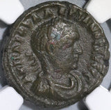 259 CE NGC Ch VF Valerian I Roman Empire Egypt Tetradrachm Zeus Head Year 7 Coin (18051002C)