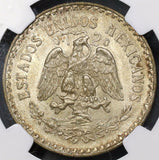 1927 NGC MS 64 MEXICO Key Date Silver Peso Choice BU Coin (18090401CZ)