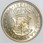 1952 NGC PF 63 SOUTH AFRICA 2 1/2 Shillings Proof King George VI Coin (18091504C)