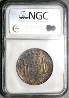 1808 NGC AU 55 Bolivia 4 Reales Spain Colonial Silver Charles IV Coin (20060802C)
