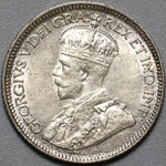 1917 Canada George V UNC 10 Cents Dime Coin (21042503R)