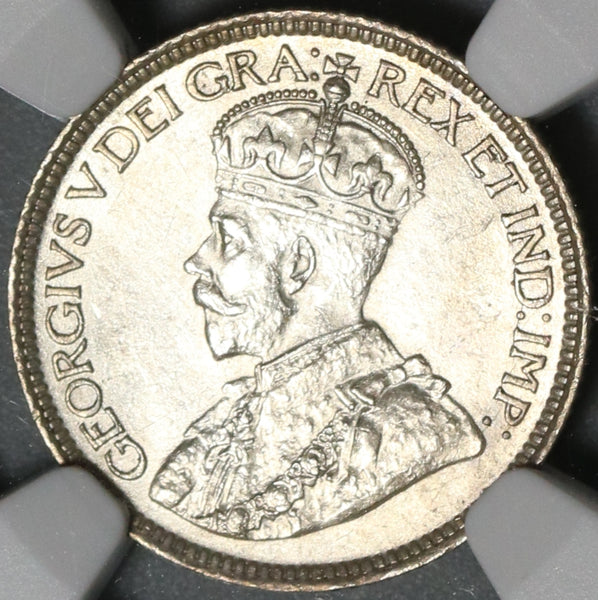 1919 NGC MS 62 Canada 10 Cents Sterling Silver Mint State Coin (21011104C)