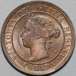 1900-H Canada Victoria UNC Large 1 Cent Coin (21042502R)