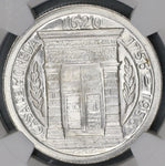 1956 PCGS MS 66 Colombia Peso 200th Year Popayan Mint Silver Coin (20053003C)