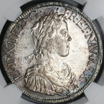 1652-A NGC-AU55 France Louis XIV Ecu Silver Crown Coin (20082201C)