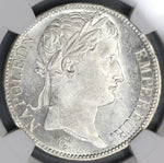 1811-A NGC MS 61 France 5 Francs Napoleon Paris Mint State Silver Coin (19080301C)
