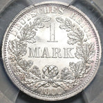 1892-A PCGS MS 67 Germany 1 Mark Berlin Mint State Gem Silver Coin (20111002C)