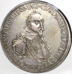 1632 NGC XF 45 Augsburg Taler Sweden Occupation German State Silver Thaler Coin (20071503C)